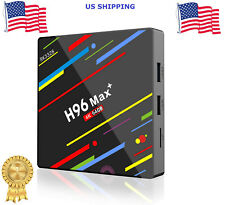 H96 MAX Plus+ Android 8.1 TV Box 4GB/64GB RK3328 Quad-core HDR10 H.265 HD Player