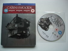 CABIN IN THE WOODS - HMV Blu Ray Steelbook - RARE ERROR VERSION  -  NEW & SEALED