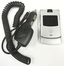Motorola Razr / Razor V3 - Silver ( T-Mobile ) Cellular Flip Phone - Bundled