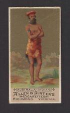 1886 Allen & Ginter N16 Natives in Costume Australia