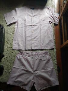NWOT Bonsoir of London Made in England B40 102cm Summer Pajamas Men's Medium?