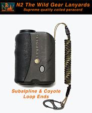 Hunting Lanyard Subalpine & Coyote GPS Rangefinder bino harness coiled paracord
