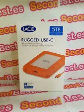 Disco duro portátil LaCie Rugged USB-C 5TB