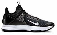Nike Herren trend-Schuhe Sportschuhe Basketballschuhe LEBRON WITNESS IV schwarz