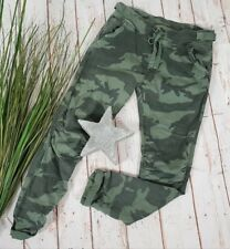 "NEU ""MELLY&CO"" ★COOL ☆★ BAGGY HOSE ★ PANTS STRETCH CAMOUFLAGE GRÜN XL 40 42"