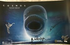 Neil deGrasse Tyson Ann Druyan signed auto autographed COSMOS 2018 SDCC poster