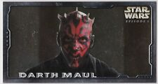 STAR WARS TOPPS EPISODE 1 SERIES 2 WIDEVISION HOBBY EMBOSSED FOIL H-E6 DART MAUL