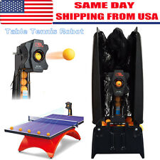 Updated S6-PRO Table Tennis Robot Automatic Ping pong Ball Machine Practice