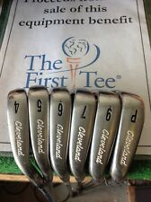 Cleveland CG Gold MCT Irons 4-PW Uniflex Steel (missing 8)