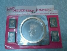 Vintage Hostess deluxe tray 'n matches set. No. 690B.