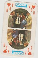 Monty Gum 1975 Kojak Card (Black Back) - Queen of Hearts Playing / trading Card