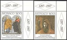 Monaco 1997 Rubens/Venanzi/Grimaldi/Bible/Art/Paintings/Artists 2v set (n42063)