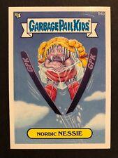Garbage Pail Kids 2014 Series 1 #64b Nordic Nessie Mint