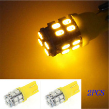 2X Yellow T10 20SMD LED W5W 194 168 501 Car Auto Side Wedge Light Bulb Amber