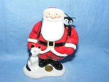 John Beswick The Snowman Father Christmas With Dog And Cat Raymond Briggs JBX01