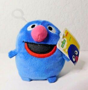 "Grover Sesame Street Gund 3"" Mini Bean Bag Plush Stuffed Baby Toy - New with Tag"