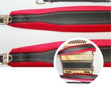 Accordion shoulder Straps, all types, genuine leather, adjustable, durable