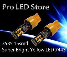7443 7440 High Power 3535 LED Bright Amber Yellow Turn Signal Light