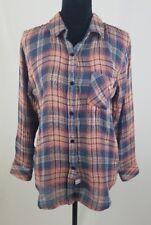 Rails women M Jerrah blouse plaid button down long sleeve shirt