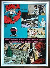 BRICK BRADFORD - PERICOLO DAL FONDO collana gertie daily 126 comic art 1982