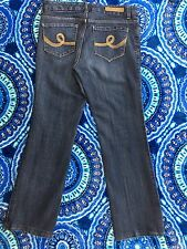 "7 for All Man Kind ""SEVEN"" Women's Size 6 Boot Cut Dark Wash Waist 32"" Jeans"