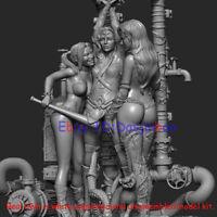 Harley Quinn Poison Ivy Figure 3D Print Model Kit Unpainted Unassembled GK H31cm