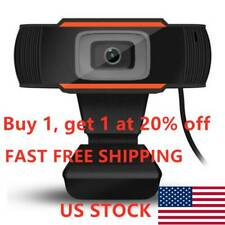 Rotatable 2.0 HD Webcam PC Digital USB Camera Video Recording with Microphone#