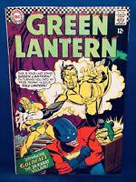 Green Lantern #48 (10,1966) Origin & 1st APP Goldface; DC Comics Silver-Age FN+