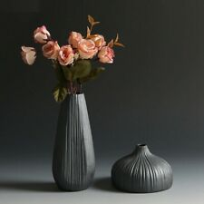 Flower Vase Room Table Decors Classic Ceramic Traditional Chinese Retro Style