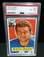 1956 Topps #29 Kyle Rote  PSA EX - MT  6               ENN COINS