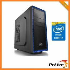 Intel Hexa Core i7 8700 16GB RAM 2TB 4GB GTX1050 Ti Gaming 600W Desktop Computer