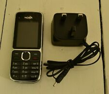 Nokia C2-01 - Black (Three) Mobile Phone, includes charger & battery