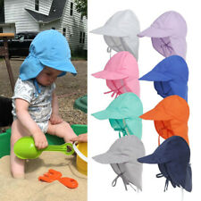 Sun Hat Baby Boys Girls Kids Summer Beach Hat Legionnaire Cap Cotton 3 M-5 Years