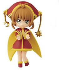 Card Captor Sakura 3'' Sakura Red and Gold Costume Banpresto Prize Figure New