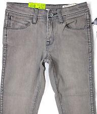 VOLCOM - Boy's Grey Stretch Skinny Leg Denim Jeans. Size 4, 6, 8. NWT. RRP$69.99