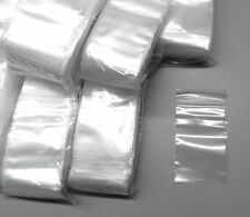 """1000 Ziplock Bags 2""""X3"""" Clear 2mil Poly Bags Small Plastic Baggies 2x3 Size"""