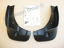 New Genuine Nissan Qashqai Front Mud Flaps Mudguards Guards KE788JD285 New Set