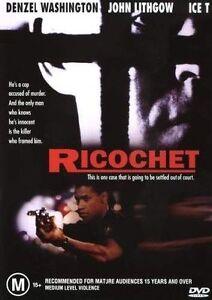 RICOCHET starring Denzel Washington (DVD, 2004)