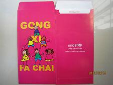 Unicef 2012 Dragon Ang Pow/ Money Packet 2pcs