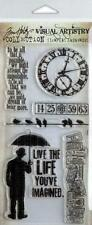 Tim Holtz Visual Artistry Clear Stamps Life's Possesions