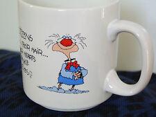 RUSS BERRIE Retirement COFFEE MUG - Senior Citizen Gold Years Experience #8086