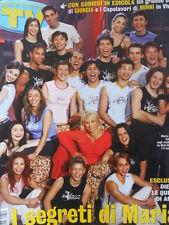 TV Sorrisi e Canzoni n°12 2003 Amici di Maria De filippi - Manuela Arcuri [D10]