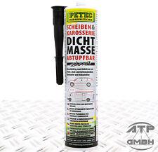 PETEC Scheiben und Karosseriedichtmasse 310 ml Abtupfbar Kartusche 83300