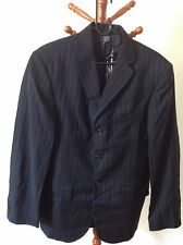 BNWT Polo Jeans Co. Ralph Lauren Men's Allon 3 Button Blazer Navy Stripe Small