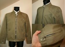 Men's Jacket, Cotton, Jacket nowOn, Zip Up Size: XXL