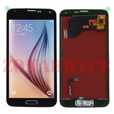 SCREEN POUR SAMSUNG GALAXY S5 I9600 G900F + HOME BOUTON Noir ECRAN LCD DISPLAY