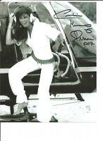 James Bond Caroline Munro as Naomi signed 10 x 8 photo UACC AFTAL dealer A1974