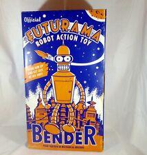Futurama Bender Wind-Up Robot Action Toy / 2000 / Matt Groening / MIB