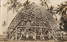SAMOA: Frame work of Samoan House  sent to British Exhibition RP-H.J.T.