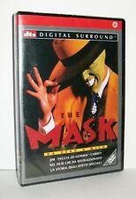 THE MASK - DA ZERO A MITO - JIM CARREY - DVD RARO FUORI CATALOGO E SIGILLATO